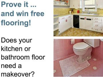 Mannington Ugliest Kitchen and Bath Contest