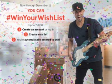 Sweetwater Sound Win Your Wish List Giveaway