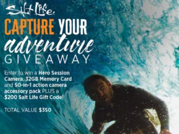 Salt Life Capture Your Adventure Giveaway