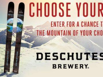 Deschutes Brewery Ski Pass Sweepstakes