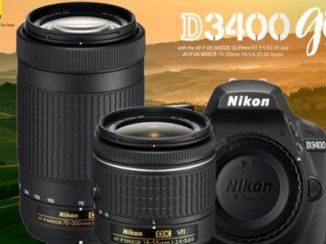 Win a Nikon D3400 Camera