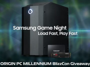 Origin PC Millenium BlizzCon Giveaway