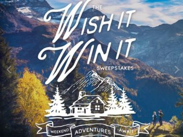 HomeAway and Keen Wish It, Win It Sweepstakes