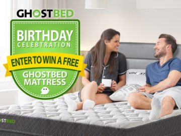 Nature's Sleep GhostBed Sweepstakes