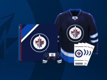 Winnipeg Jets EA Sports PS4 Sweepstakes