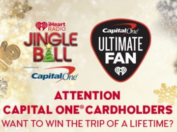 iHeartRadio Jingle Ball Presented by Capital One Ultimate Fan Sweepstakes