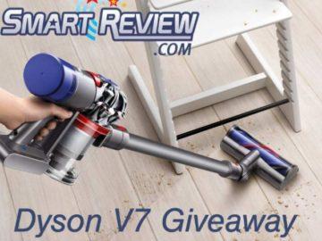 Dyson V7 Animal Cordless Vacuum Giveaway