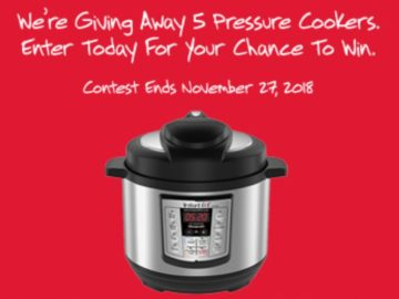 Furmano's Pressure Cooker Contest