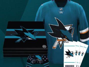 San Jose Sharks EA Sports Sweepstakes