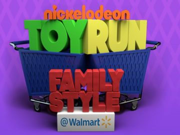 Nickelodeon Toy Run: Family Style at Walmart Sweepstakes