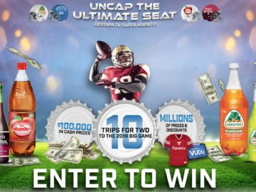 Novamex Uncap The Ultimate Seat Sweepstakes and Instant Win Game