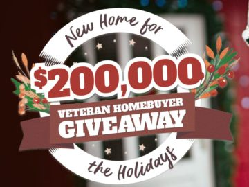 Realtor.com New Home for the Holidays $200K Giveaway