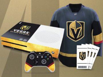 Vegas Golden Knights EA Sports Xbox Sweepstakes