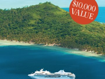 Win a $10,000 Luxury Tahiti Cruise!