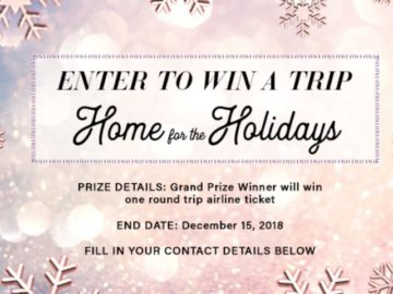 Little Black Dress Home for the Holidays Sweepstakes