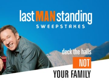 Last Man Standing $2,500 Cash Sweepstakes
