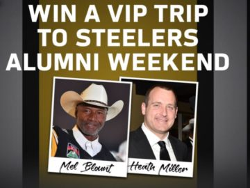 Win a Trip to a Pittsburgh Steelers Game!
