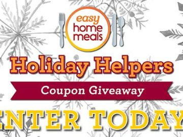 Holiday Helpers Coupon Giveaway