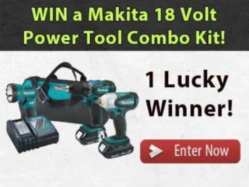 Win a Makita Cordless Drill Combo Kit!