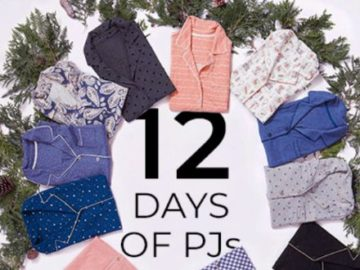 Soma 12 Days of PJs Sweepstakes