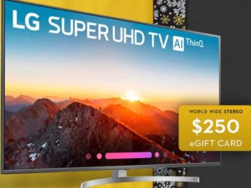 World Wide Stereo November Sweepstakes