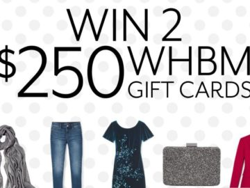 WHBM Style it Forward Sweepstakes