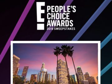 E! People's Choice Awards Sweepstakes