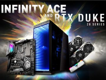 Infinity Ace and RTX Duke 20 Series Gaming Computer Sweepstakes