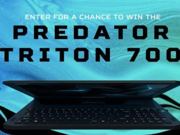 Predator Triton 700 Giveaway