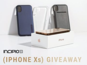Incipio Go for the Gold iPhone Xs Giveaway
