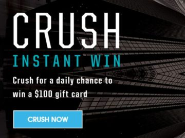 Camel Crush $100 Gift Card Instant Win Game