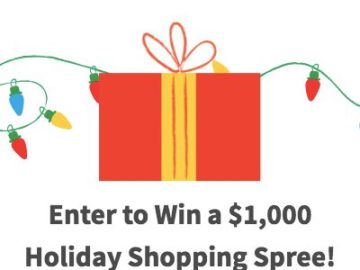 Holiday Shopping Guide $1,000 Sweepstakes