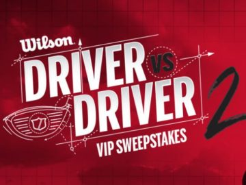 Wilson Golf Channel VIP Sweepstakes