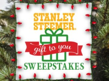 Stanley Steemer Our Gift To You Sweepstakes
