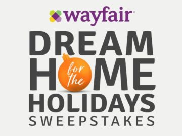 Wayfair's Home For The Holidays $2,500 Giveaway