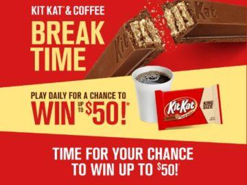 Kit Kat Break Time Instant Win Game