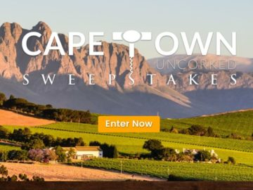 Africa Channel Cape Town Uncorked Sweepstakes