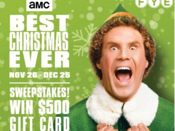 AMC $500 FYE Gift Card Sweepstakes
