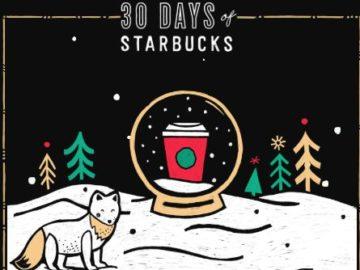 30 Days of Starbucks Promotion