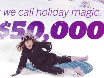 Ebates $50,000 Holiday Magic Giveaway