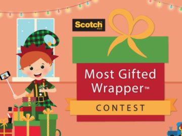 Ellen DeGeneres and Scotch Brand's Most Gift Wrapper Contest