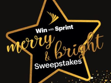 Sprint's Merry & Bright Sweepstakes