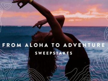 Wanderlust from Aloha to Adventure Hawaii Sweepstakes