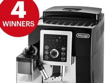 Men's Health De'Longhi Cappuccino Machine Sweepstakes