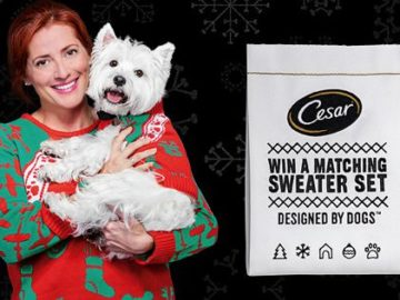 Cesar Twinning Sweepstakes and Instant Win Game
