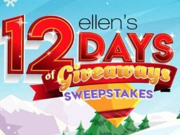 Win GEICO Skybox Seats to Ellen's 12 Days of Giveaways 2018!
