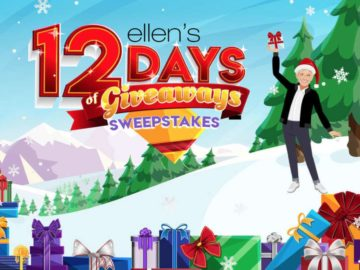 win tickets an episode of ellens 12 days of giveaways 2018