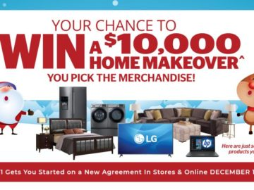 Aaron's $10K Home Makeover Sweepstakes