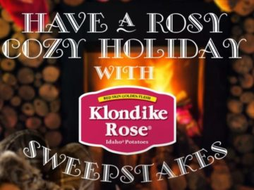 Rosy Cozy Holiday Sweepstakes