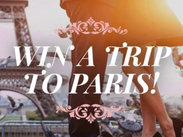 Win a Trip to Paris from Le Grand Courtâge